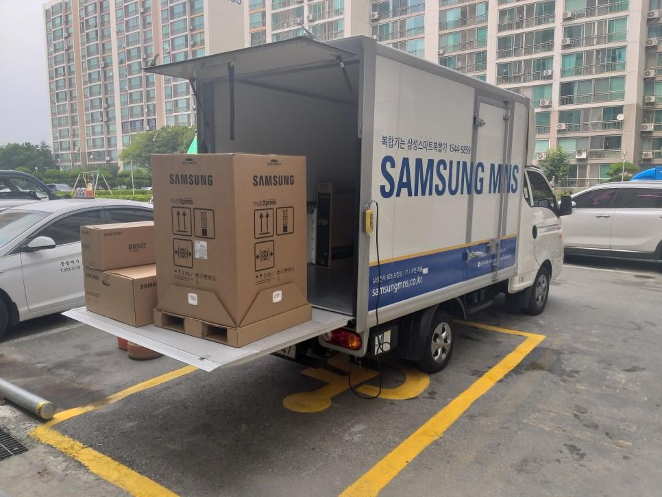 서초 L아파트 삼성 A3 복합기    SL-X4225RX 설치후기